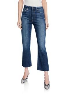 Joe's Jeans La Jolla High Rise Crop Bootcut Jeans