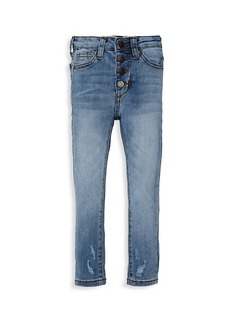 Joe's Jeans Little Girl's High-Rise Button-Fly Jeans