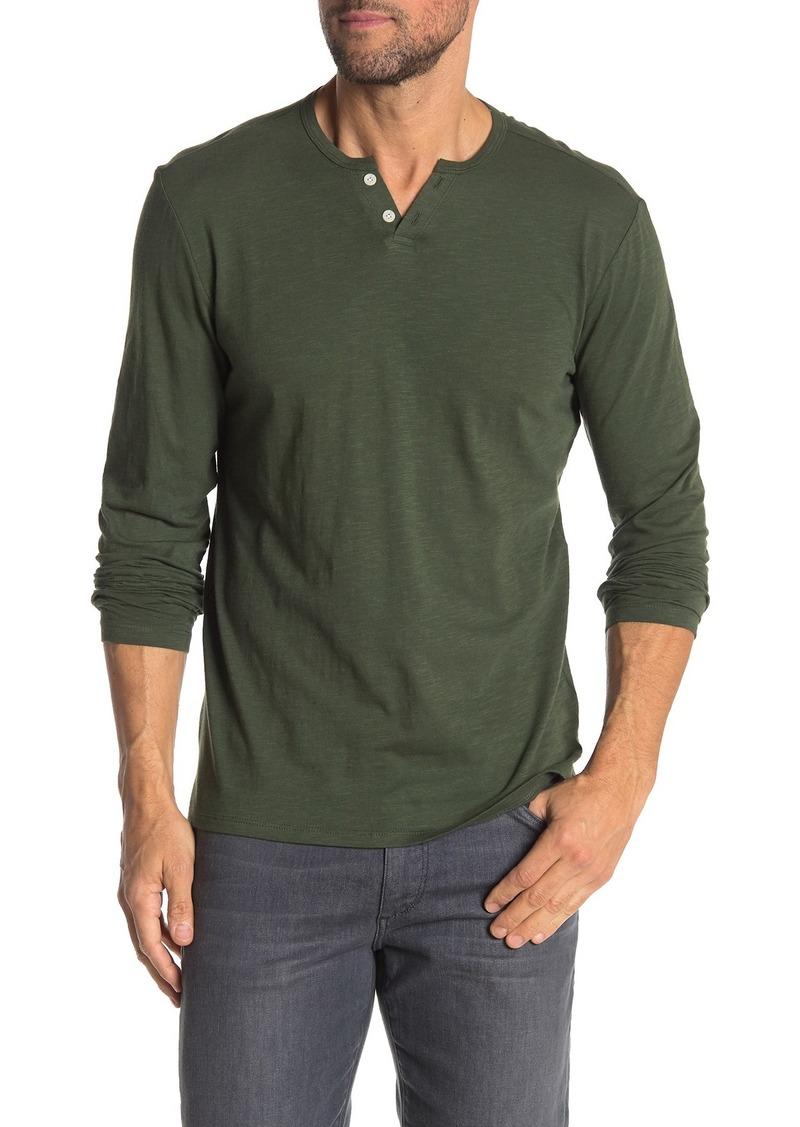 Joe's Jeans Long Sleeve Knit Henley