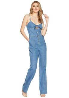 Joe's Jeans Lucia Denim Jumper in Medium Indigo