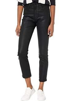 Joe's Jeans Luna Ankle Coated in Black