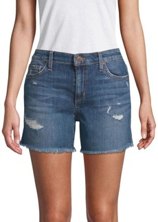 Joe's Jeans Maddie Distressed Shorts