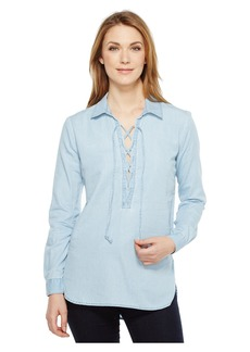 Joe's Jeans Makeyla Lace-Up Shirt