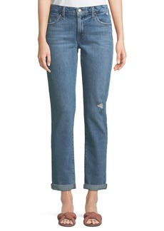 Joe's Jeans Mandy Slim-Leg Boyfriend Ankle Rolled Jeans