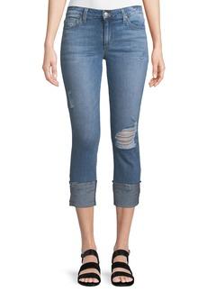 Joe's Jeans Markie Mid-Rise Cropped Jeans