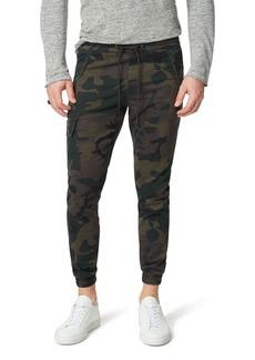 Joe's Jeans Men's Camo Drop-Yoke Twill Cargo Pants