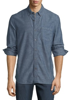 Joe's Jeans Men's Sandoval Chambray Sport Shirt