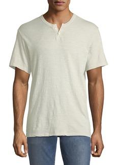 Joe's Jeans Men's Short-Sleeve Henley Tee