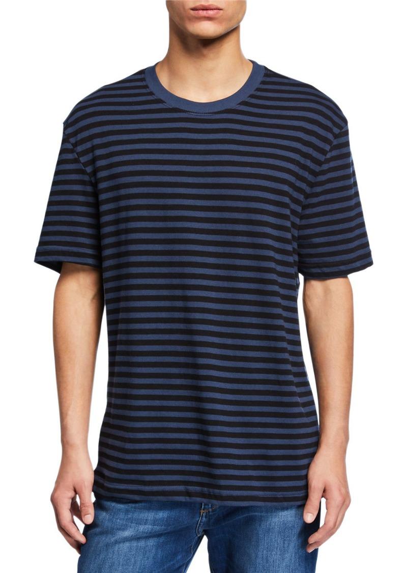 Joe's Jeans Men's Striped Oversized Short-Sleeve T-Shirt