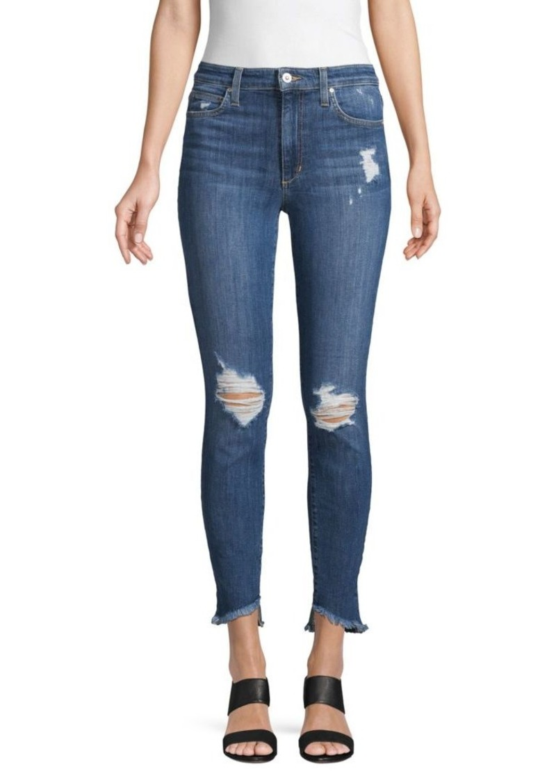 Joe's Jeans Michelle High-Rise Distressed Skinny Jeans
