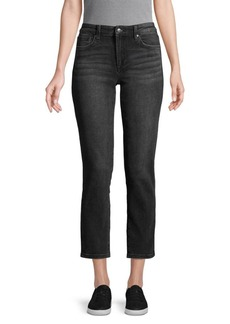 Joe's Jeans Mid-Rise Cropped Jeans