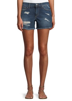 Joe's Jeans Mid-Rise Cutoff Denim Shorts