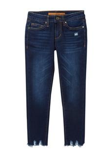 Joe's Jeans Mid Rise Markie Fit Rocker Raw Skinny Jeans (Big Girls)