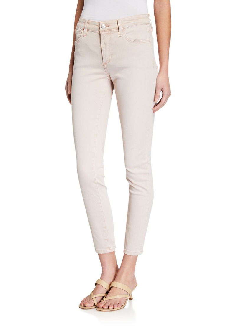 Joe's Jeans Mid Rise Skinny Ankle Jeans