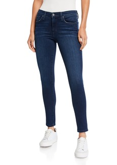 Joe's Jeans Mid Rise Skinny Ankle Whiskered Jeans