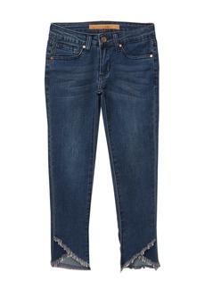Joe's Jeans Mid Rise Skinny Tulip Hem Jeans (Big Girls)