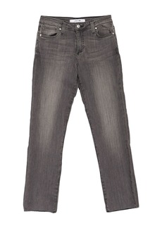 Joe's Jeans Mid Rise Straight Ankle Jeans