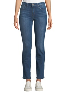 Joe's Jeans Mid-Rise Straight Leg Jeans