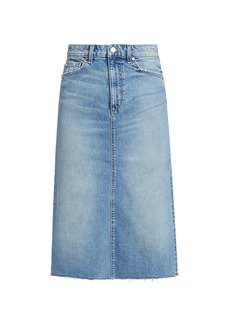 Joe's Jeans Midi Denim Skirt