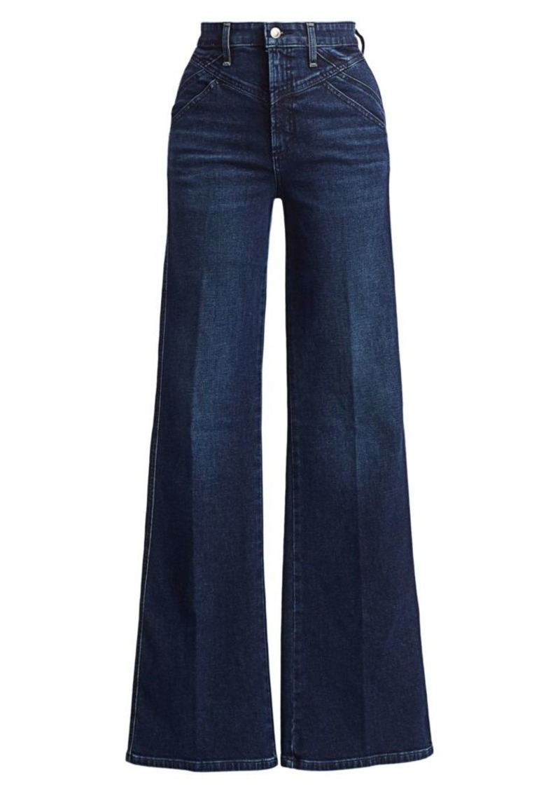 Joe's Jeans Molly High-Rise Flare Jeans