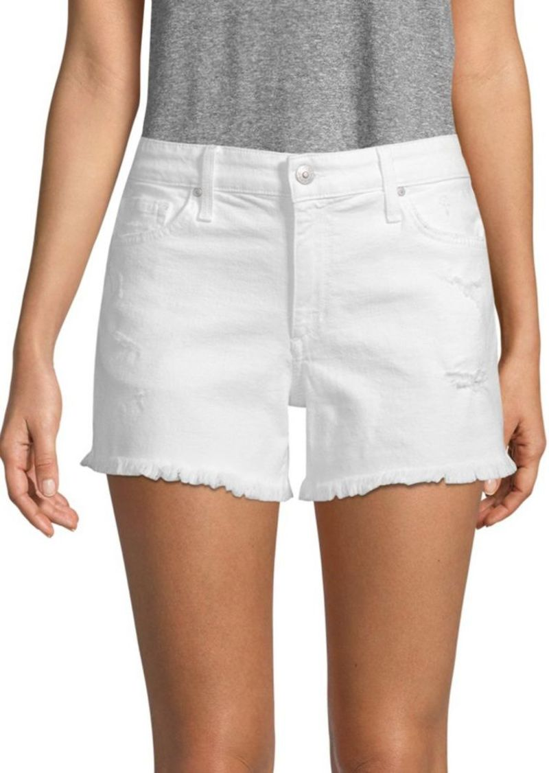 ba350561ffa07 Joe's Jeans Odessa Frayed Denim Shorts Now $64.99