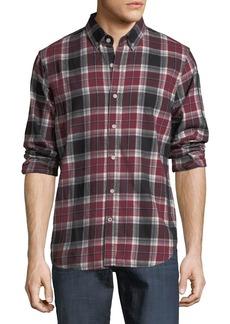 Joe's Jeans Plaid Flannel Button-Front Shirt