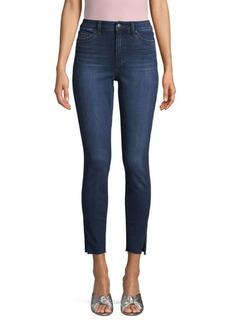 Joe's Jeans Pricilla High-Rise Slit Ankle Jeans