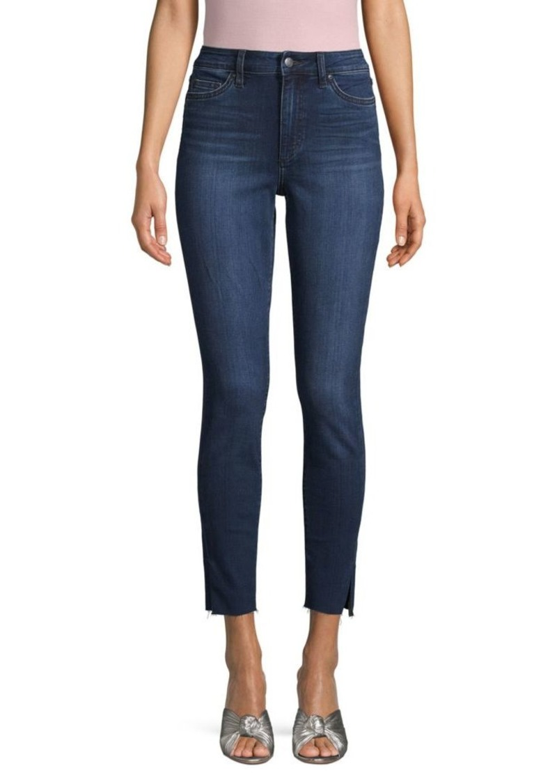 Joe's Jeans Pricilla High-Rise Slit Ankle Jeans