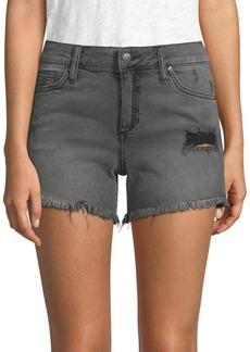 Joe's Jeans Rachel Frayed Denim Shorts
