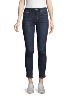 Joe's Jeans Racing Stripe Skinny Ankle Jeans