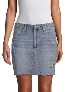Joe's Jeans Rayna High-Waist Pencil Denim Skirt