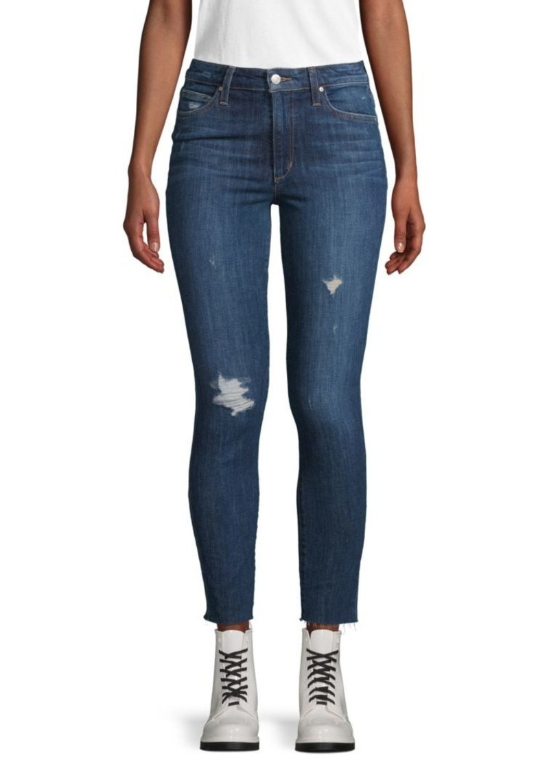 Joe's Jeans Renata High-Rise Ripped Skinny Ankle Jeans