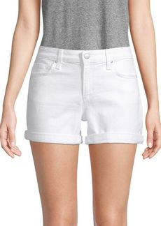 Joe's Jeans Rosa Rolled Cuff Denim Shorts