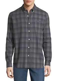 Joe's Jeans Seattle Plaid Flannel Button-Down Shirt