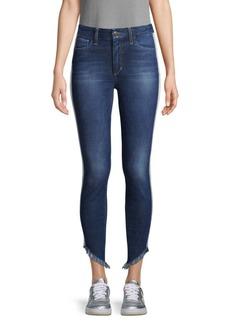 Joe's Jeans Skinny Ankle Fringe Jeans