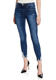 Joe's Jeans Skinny Cropped Destroyed Jeans
