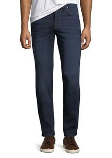 Joe's Jeans Slim-Fit Straight-Leg Dark Wash Jeans