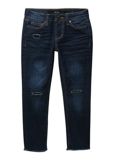 Joe's Jeans Sophia Rip & Repair Beaded Mid Rise Jeans (Big Girls)