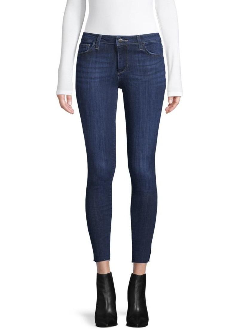 Joe's Jeans Split-Hem Curvy Skinny Ankle Jeans