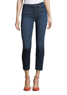 Joe's Jeans Straight-Leg Released-Hem Ankle Jeans