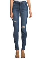 Joe's Jeans Tandy High-Rise Distressed Skinny Jeans