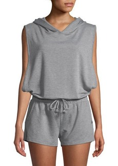 Joe's Jeans Terry Cloth Sleeveless Hooded Romper