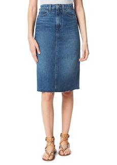 Joe's Jeans The A-Line Denim Skirt