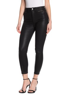 Joe's Jeans The Bella Ankle Crop Zip Hem Skinny Pants