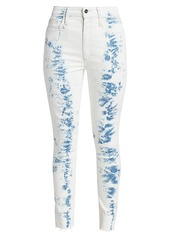 Joe's Jeans The Bella High-Rise Skinny Ankle Tie-Dye Jeans