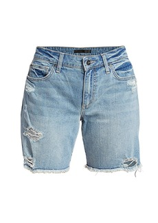 Joe's Jeans The Bermuda Distressed Shorts