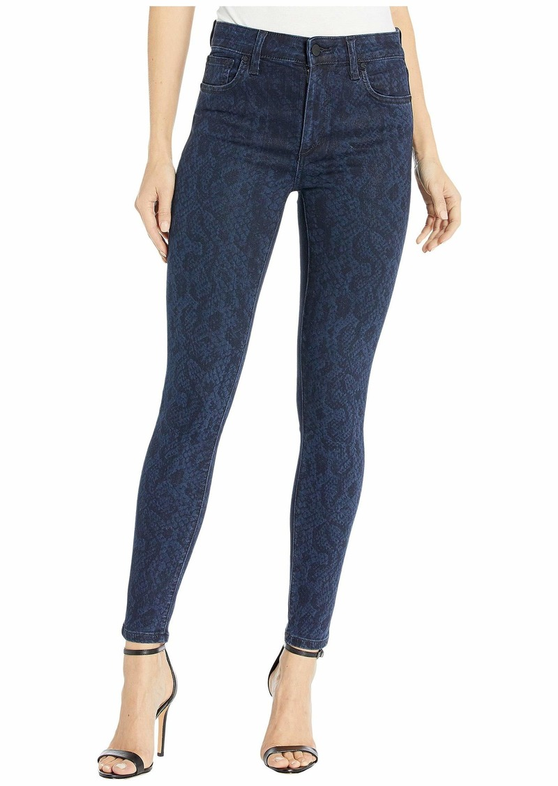 Joe's Jeans The Charlie Ankle in Indigo Coated Python