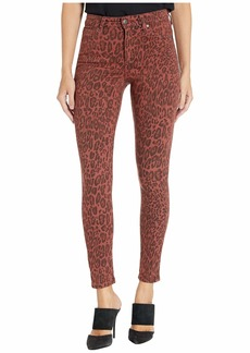 Joe's Jeans The Charlie Ankle in Twisted Leopard/Sequoia