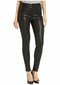 Joe's Jeans The Charlie Ankle Leather in Black