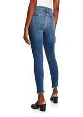 Joe's Jeans The Charlie Distressed Skinny Jeans w/ Sharkbite Hem